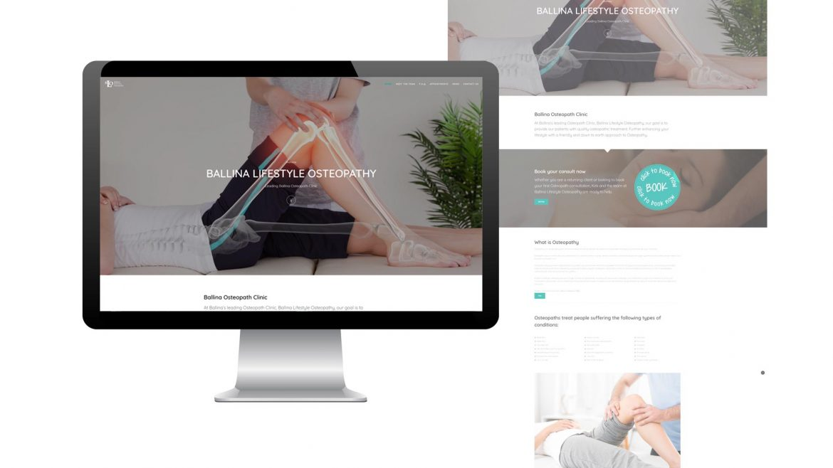 ballina lifestyle osteopathy website is now live